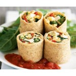 # 3 Spinach Salad Wrap